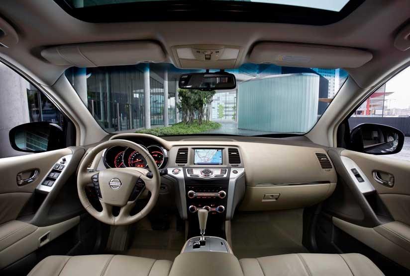 ... Cabin Of New 2010 Nissan Murano ...