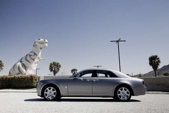 Rolls-Royce Ghost in the US