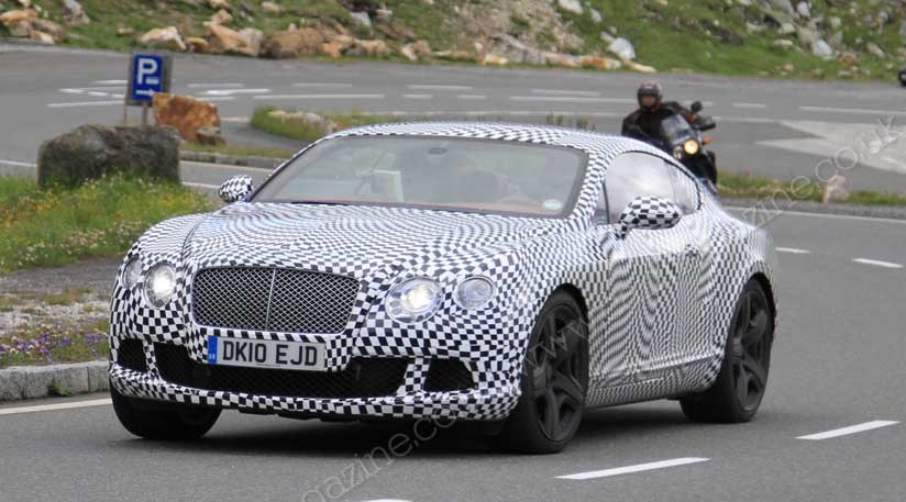 Bentley Continental 2011 Spy Shots Of The New Conti Car Magazine