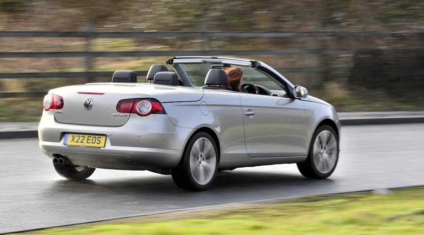 VW's new 2011 Eos, replaced by 2014 Passat cab by CAR Magazine