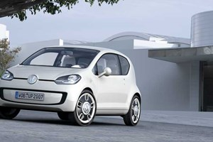 The new Volkswagen Up coming in August 2011