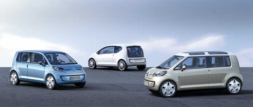 VW Lupo, VW up!