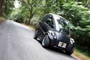 First up is the Gordon Murray T25 city car – smaller than a Smart Fortwo, with amazing manoeuvrability and seriously clean statistics