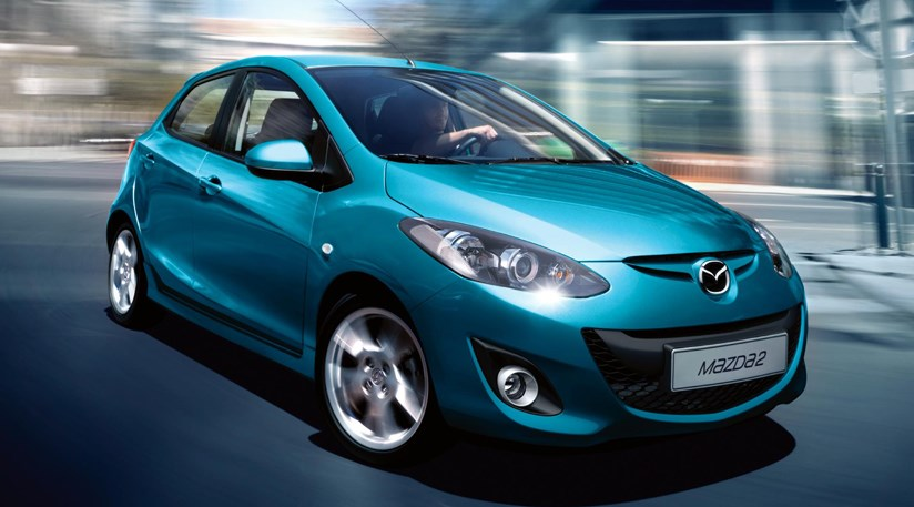 mazda 2 facelift (2010) first picturecar magazine