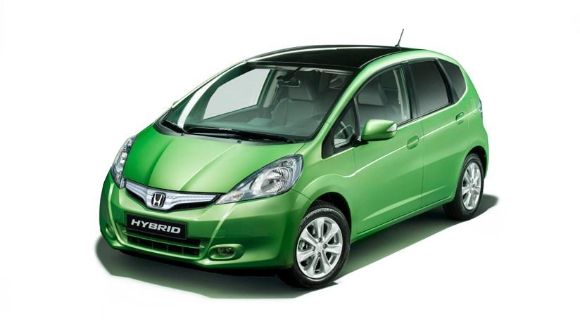 New Honda Jazz Hybrid. Honda Jazz Hybrid (2011) first
