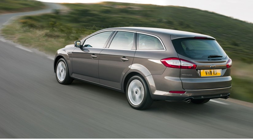 Ford Mondeo Facelift  2010   The Cabin And Estate