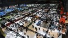 The halls at the Paris motor show open at 7.00am on Thursday 30 September