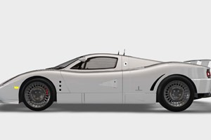 The new supercar from Canada: the De Macross GT1. A little GT racer for the road