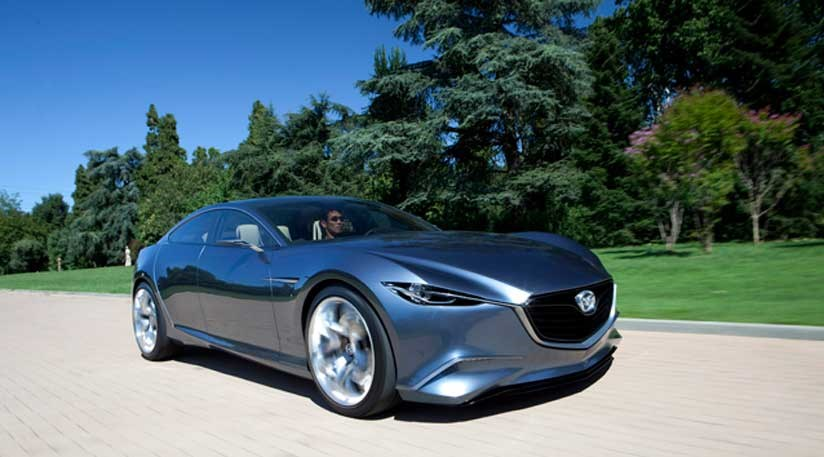Mazda Shinari concept car (2010) first official pictures   CAR Magazine