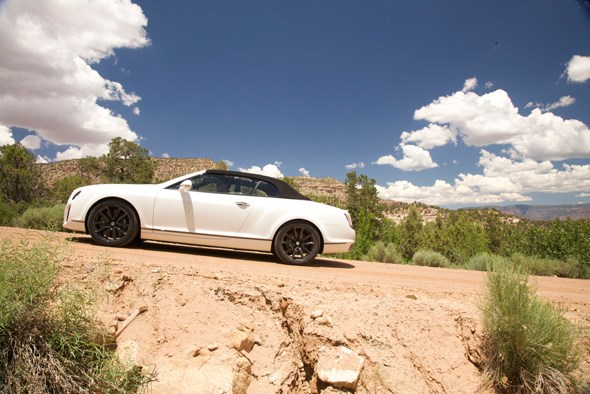 Bentley Continental road trip