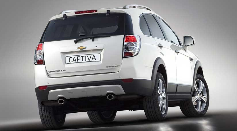Chevrolet Captiva 2011 First Official Pictures Car Magazine