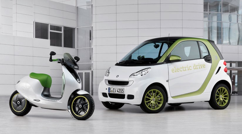 Smart E Scooter Electric Concept 2010 First Pictures