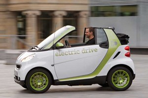 The Smart Fortwo Electric Drive; coming to a Merc dealer near you from 2012