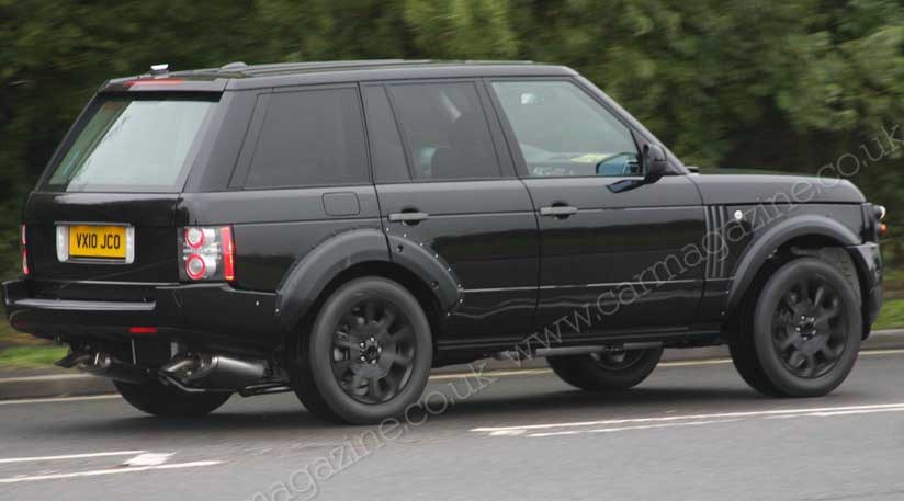 range rover 2012 first spy photos of luxo 4x4 by car magazine. Black Bedroom Furniture Sets. Home Design Ideas