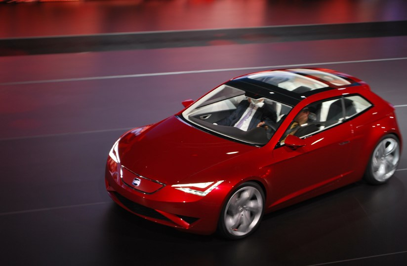 Seat Ibe Electric Concept 2010 First Official Pictures Car Magazine