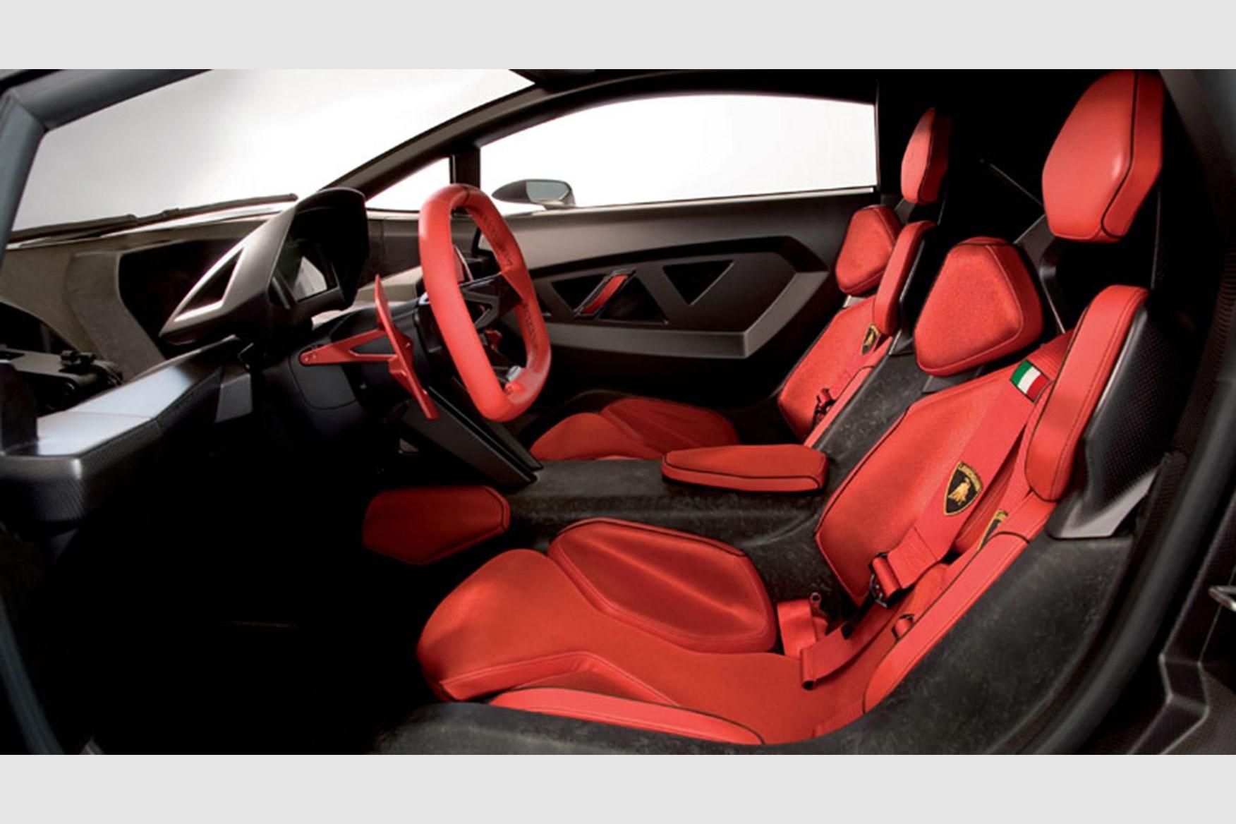 lamborghini sesto elemento inside. lamborghini sesto elemento (2010): the all-carbonfibre concept car by car magazine inside e