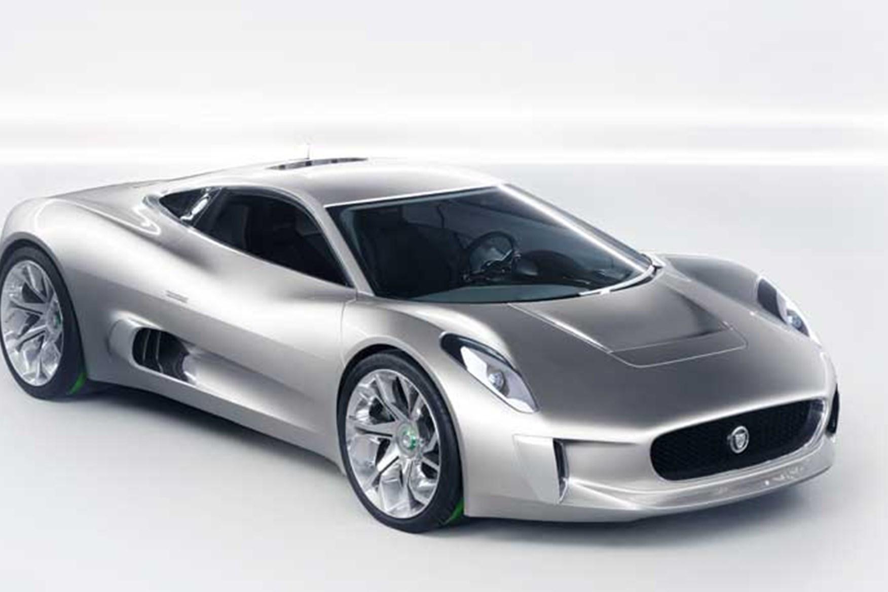... Paris Jaguar C X75 Concept Car: A Diesel Electric Supercar From Jag ...
