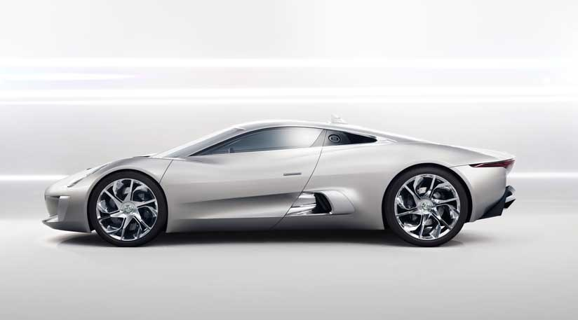 Jaguar C Concept Diesel Electric Supercar By Car Magazine