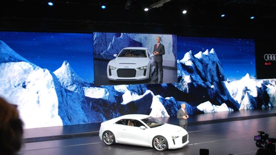 Audi Quattro Concept 2010 The 21st Century Ur Quattro Car Magazine