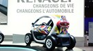 Renault Twizy (2011): the tandem-seat electric city car