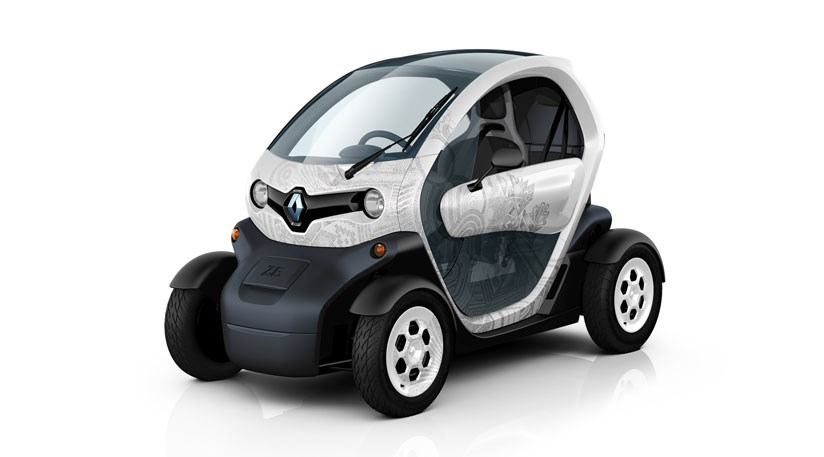 Renault Twizy 2011 The Tandem Seat Electric City Car