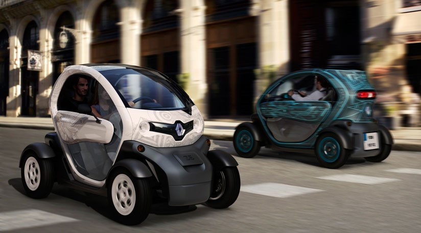 renault twizy 2011 the tandem seat electric city car by car magazine. Black Bedroom Furniture Sets. Home Design Ideas