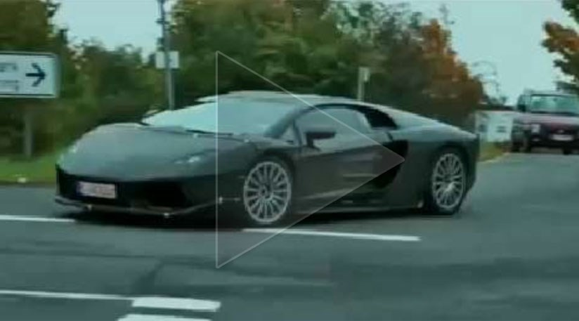 Lamborghini Supercar Spy Video By Car Magazine