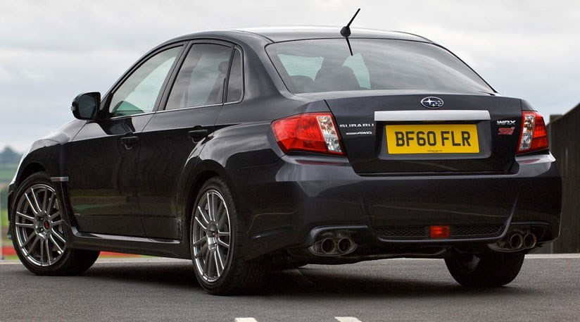 Sti For Sale >> Subaru Impreza WRX STI (2010) – the saloon is back! by CAR ...