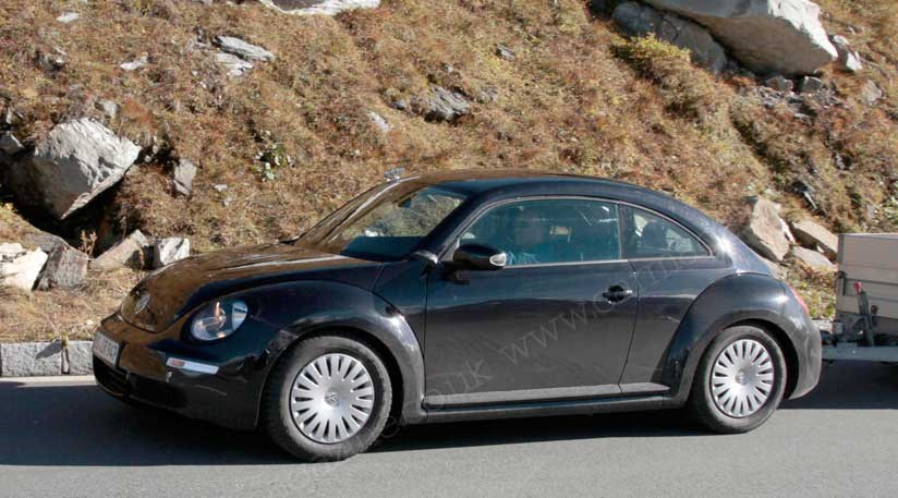 VW Beetle 2011 spy photos of the icon reborn by CAR Magazine
