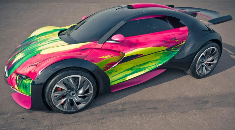 Citroen Survolt Art Car First Pictures By CAR Magazine - Cool first cars