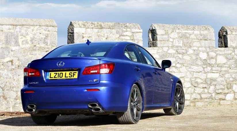 Lexus IS-F (2010) new review | CAR Magazine