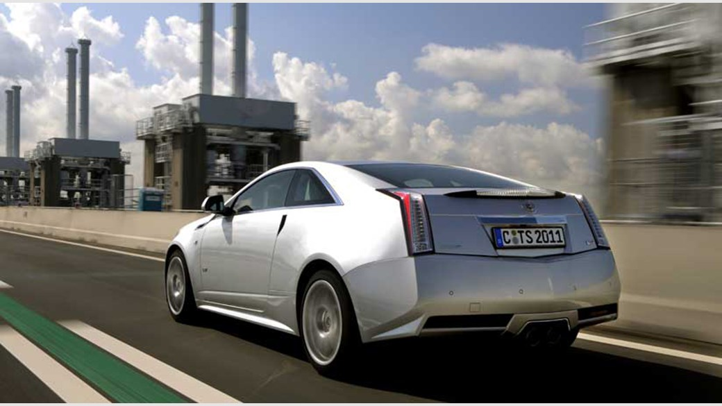 Cadillac Cts V Coupe 2010 Review Car Magazine