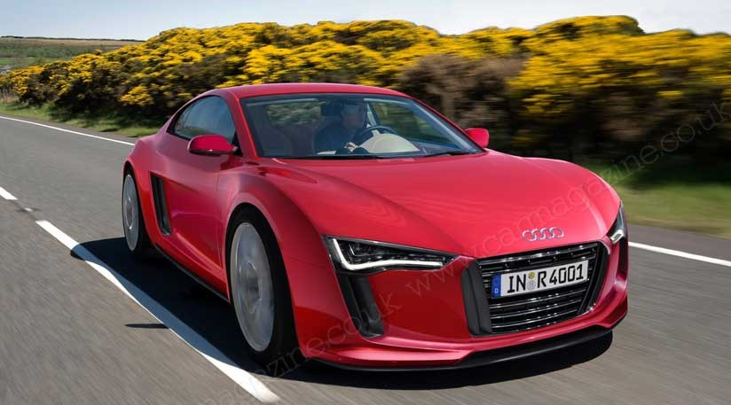 Audi R Midengined Sports Car Approved Here In CAR Magazine - Audi r5