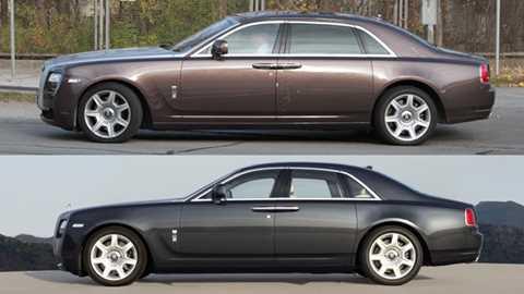 Rolls Royce Ghost Extended Wheelbase Scooped