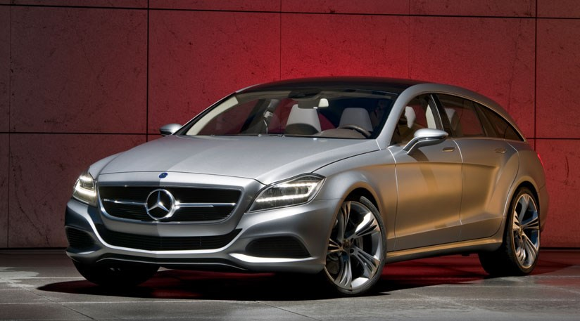Mercedes to build cls shooting brake by car magazine for Build my mercedes benz