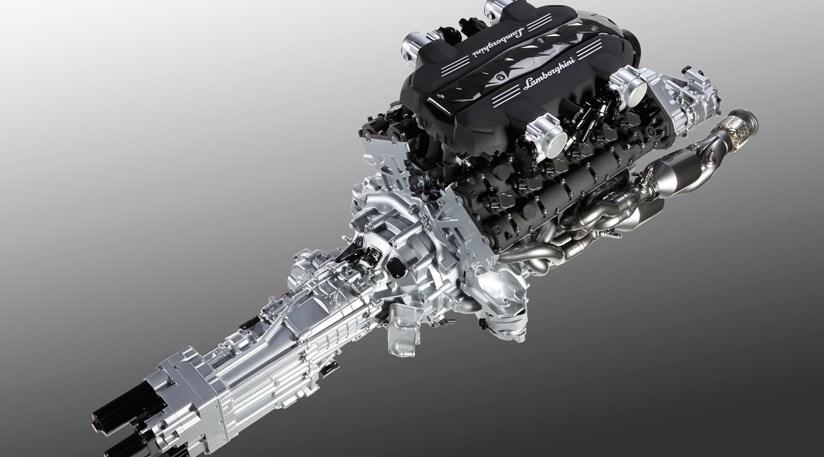Lamborghini Reveals 2011 S New V12 Supercar Engine Car Magazine
