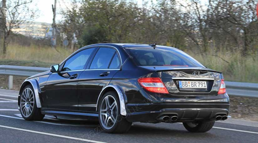 mercedes c63 amg 2011 a black series or dtm by car magazine. Black Bedroom Furniture Sets. Home Design Ideas