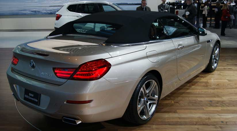 BMW 6 Series Convertible (2010) First Pictures