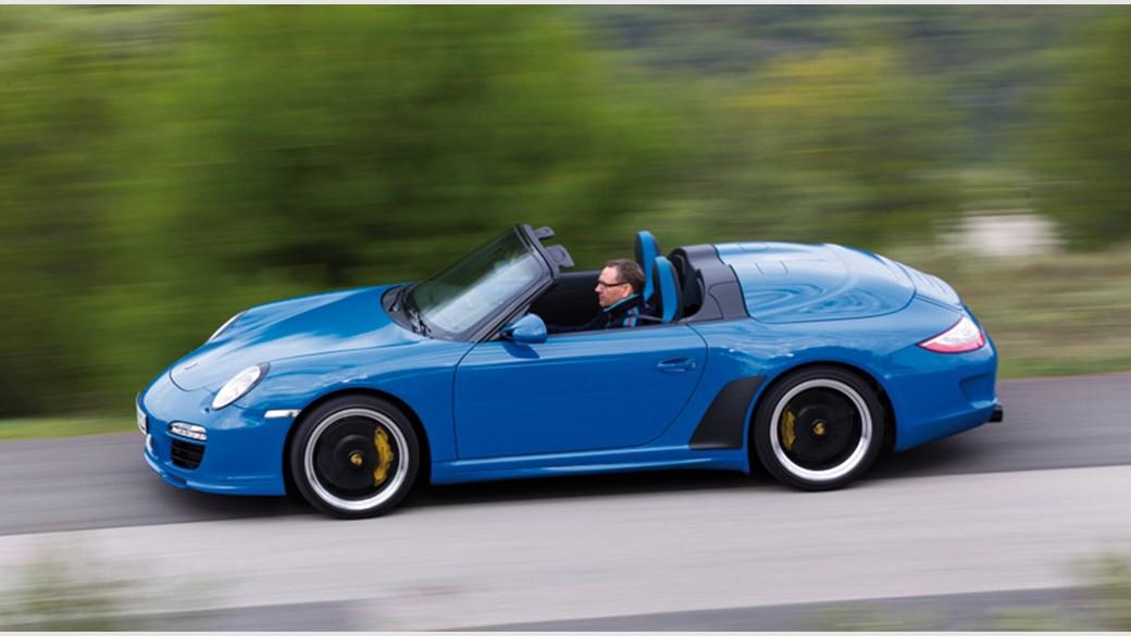 Porsche Speedster 997 Auto Cars
