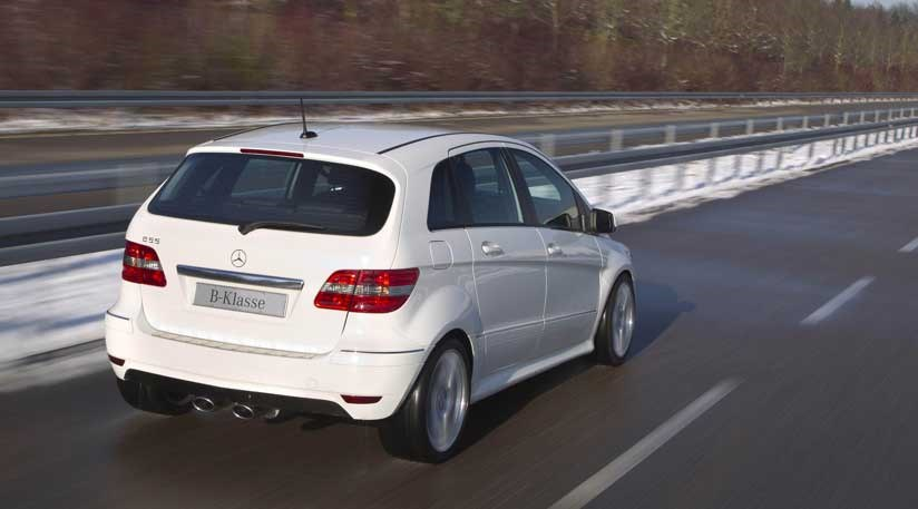 Mercedes B55 2011 A Ballistic V8 B Class By Car Magazine