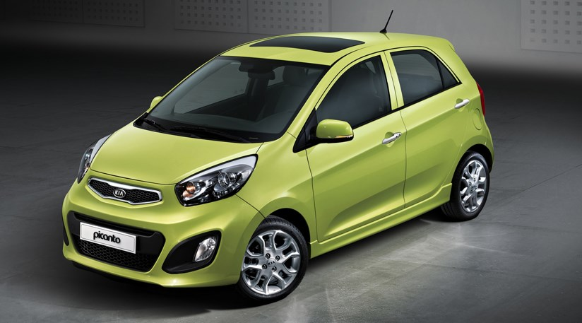 kia picanto 2011 first official pictures car magazine. Black Bedroom Furniture Sets. Home Design Ideas