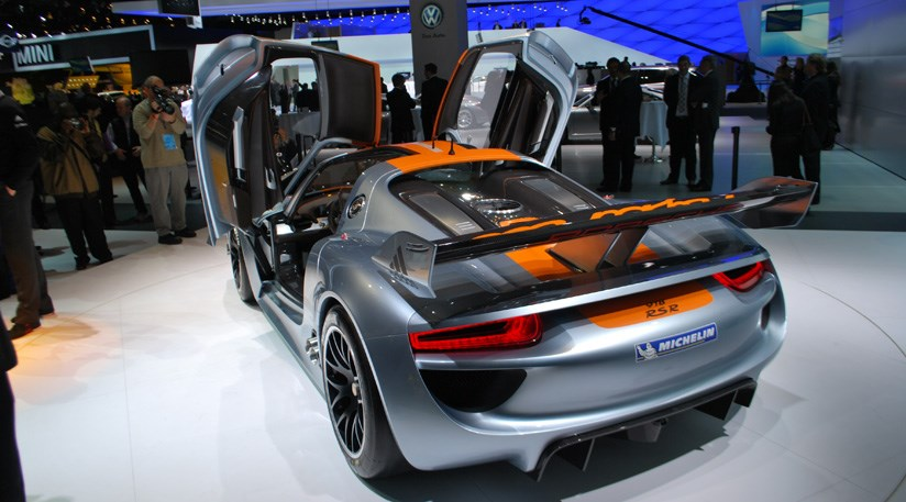 Porsche 918 RSR Concept 2011 First Official Pictures 14