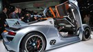 Porsche 918 RSR: one of the big splashes at the 2011 NAIAS