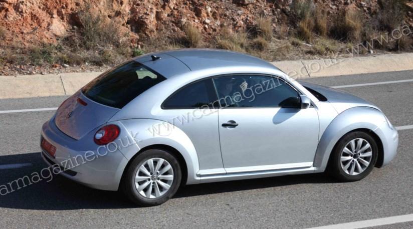 VW Beetle 2011 the new spy photos by CAR Magazine