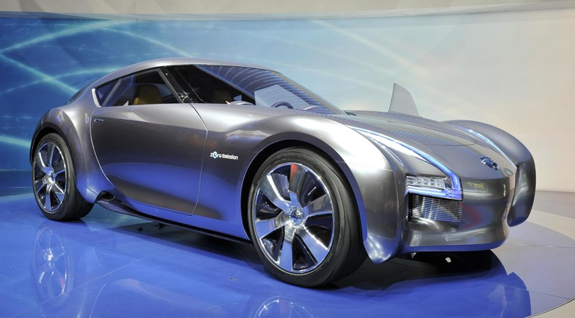 Nissan esflow electric concept car 2011 at 2011 geneva for Electric motors for cars for sale