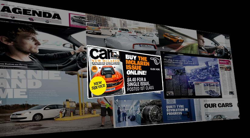A Single Issue Of Car Magazine