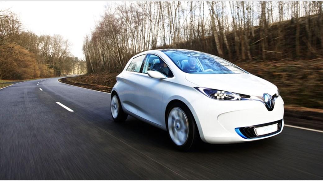 Renault Zoe Concept Ev Supermini 2011 Review Car Magazine