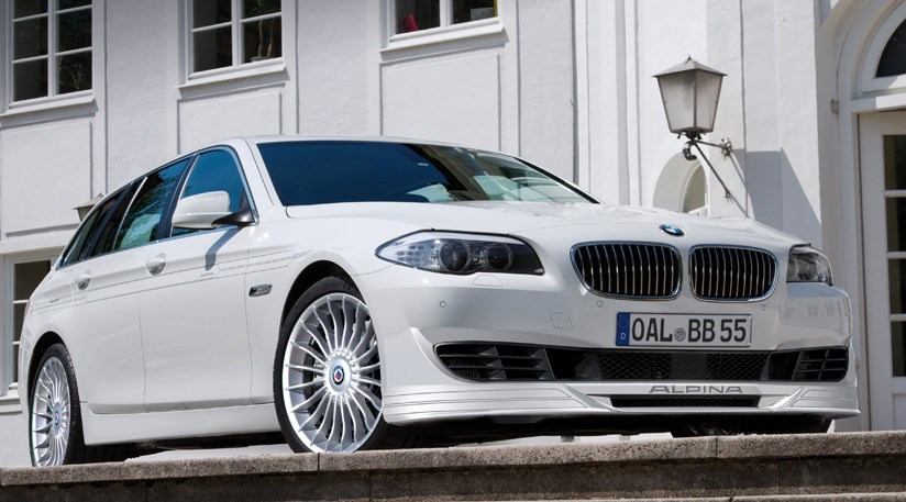 BMW Alpina B5 Bi-Turbo Touring (2011): first pictures by CAR Magazine