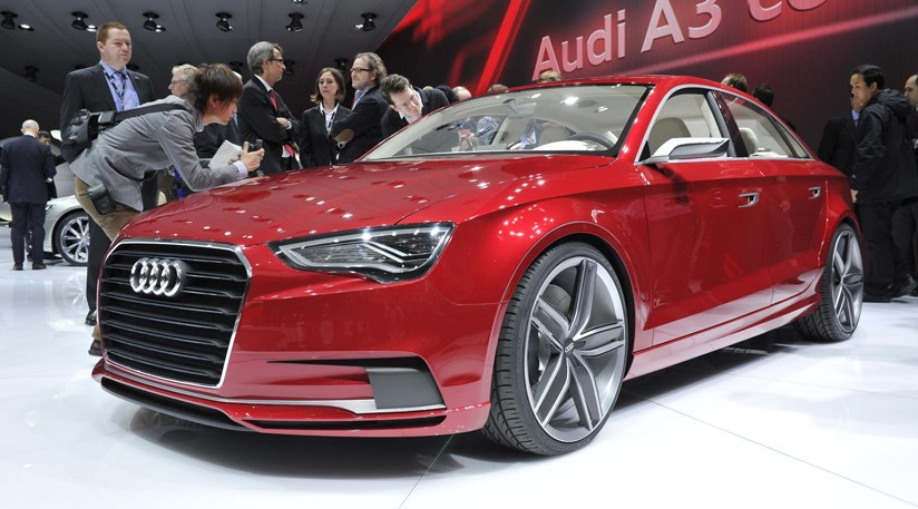 audi a3 concept 2011 at 2011 geneva motor show by car magazine. Black Bedroom Furniture Sets. Home Design Ideas