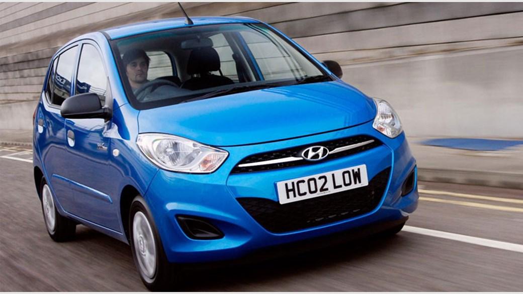 Hyundai I10 Blue 2017 Review